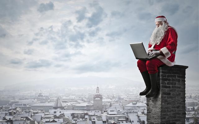 Papá Noel marketing InfoJobs